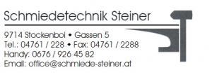 Stellenangebot Büro – Schmiedetechnik Steiner
