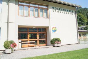 Volksschule Stockenboi Eingang